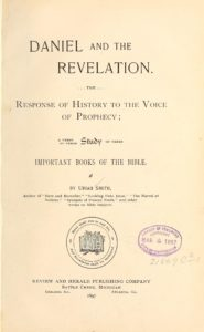 1897 Daniel and the Revelation - Title Page